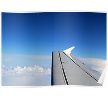 Fly above the Clouds Poster