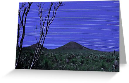 Star Trails - Stirling Ranges Western Australia by EOS20