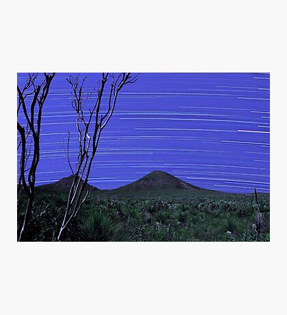 Star Trails - Stirling Ranges Western Australia Photographic Print
