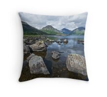Wastwater English Lake District Throw Pillow