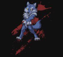 Cute anthro blue wolf T-Shirt
