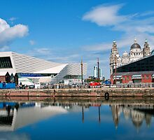 Liverpool reflections.. by Michelle McMahon