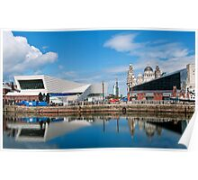 Liverpool reflections.. Poster