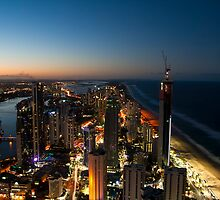 Surfers Paradise from Q1 by D Byrne