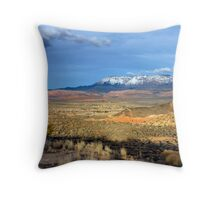 Spring Mountains Throw Pillow
