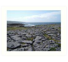 The Burren, Co. Clare, Ireland Art Print