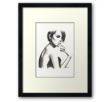 Chandaki 'The Mistress' Framed Print