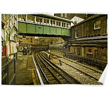 Bow Road station Poster