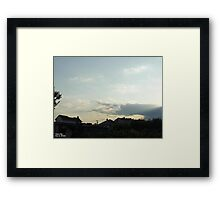 SunDown 2 Framed Print