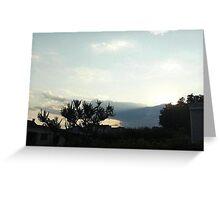 SunDown 3 Greeting Card