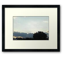 SunDown 9 Framed Print