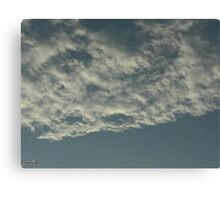 Sky Or Ocean ?  3 Canvas Print