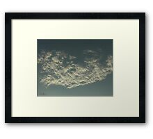 Sky Or Ocean ? Framed Print
