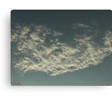 Sky Or Ocean ? Canvas Print
