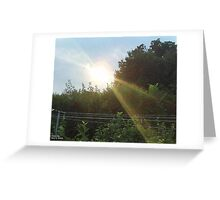 Accident  Greeting Card
