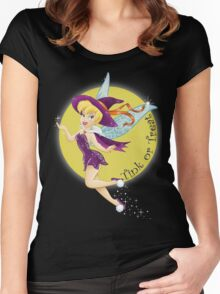 Tinkerbell - Tink or Treat!! Women's Fitted Scoop T-Shirt