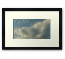 From Space Or The Ground ? Framed Print