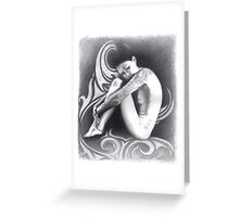 Samanya 'The Unknown One' Greeting Card