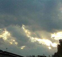 Sky On Fire  by dge357
