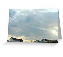SunDown  Collection  Greeting Card