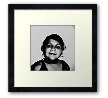 i Am Me !!! Framed Print