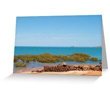Broome, Roebuck Bay Western Australia Greeting Card