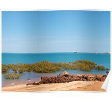 Broome, Roebuck Bay Western Australia Poster