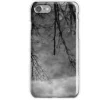 Wetland Reflections 49 BW iPhone Case/Skin
