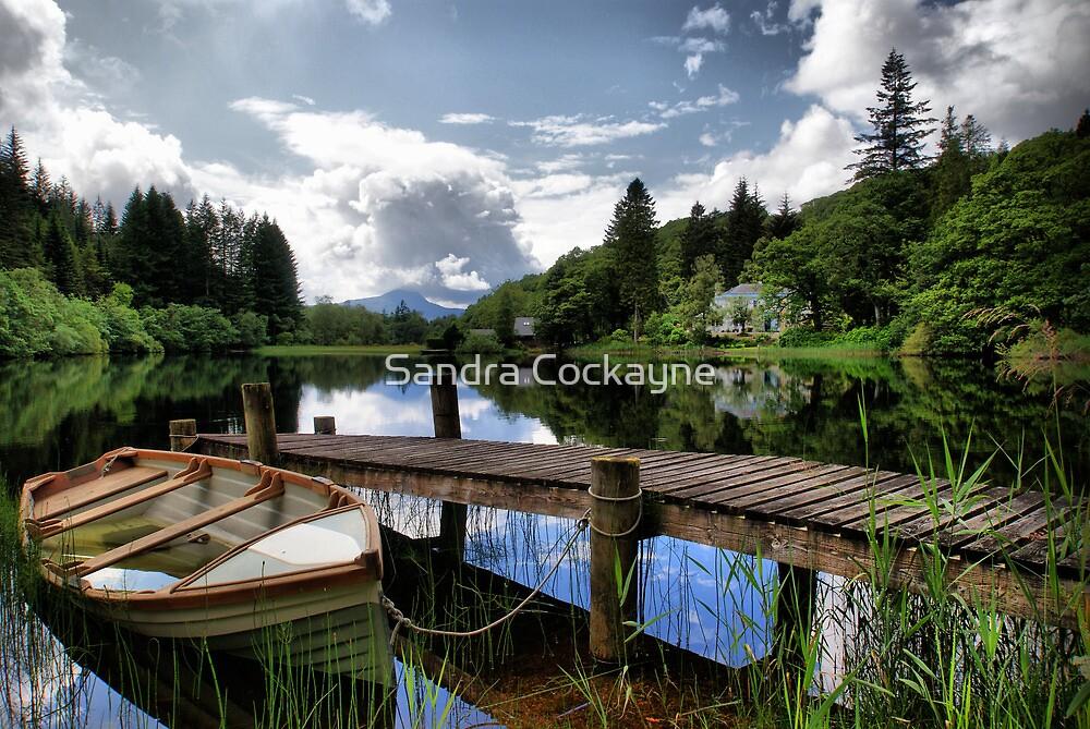 Loch Ard ~ The Trossachs, Scotland by Sandra Cockayne