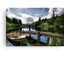 Loch Ard ~ The Trossachs, Scotland Canvas Print