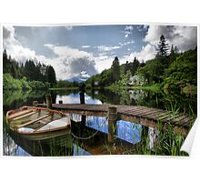 Loch Ard ~ The Trossachs, Scotland Poster
