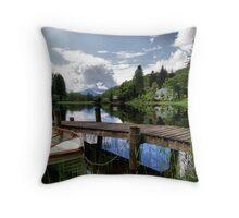 Loch Ard ~ The Trossachs, Scotland Throw Pillow