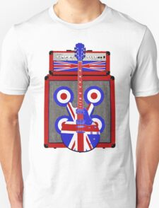 Vintage amp and guitar Unisex T-Shirt