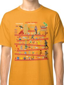 1980s Arcade Heroes Classic T-Shirt