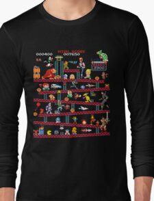 1980s Arcade Heroes Long Sleeve T-Shirt