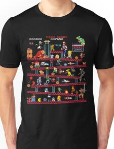 1980s Arcade Heroes Unisex T-Shirt