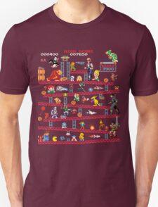 1980s Arcade Heroes Unisex T-Shirt