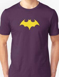 Batgirl Symbol Purple Unisex T-Shirt