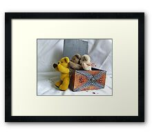 Let Me In The Box!!! Framed Print