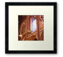 Detail, Saint David's Cathedral, Hobart Framed Print
