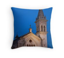 Cuernavaca Church Throw Pillow
