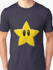 Mario star vector illustration T-Shirt