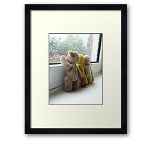 Waving to the Children  Framed Print