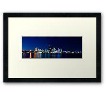 Perth, Western Australia. Framed Print