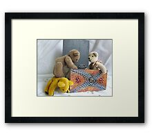 Oh my Poor Back! Framed Print