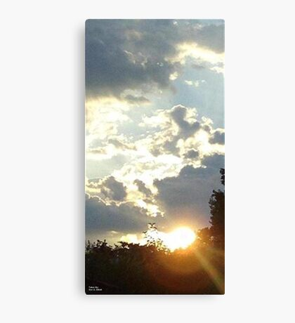 Strip Of Time  Canvas Print