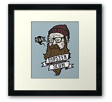 BEWARE!  Framed Print