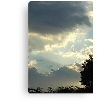 SunDown  Collection  Canvas Print