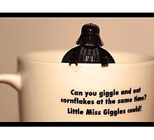 Darth Vader Cuppa Photographic Print
