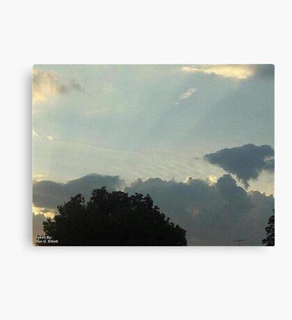 SunDown  Collection  Canvas Print